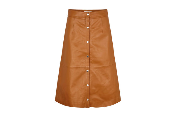 Alfa Leather Skirt