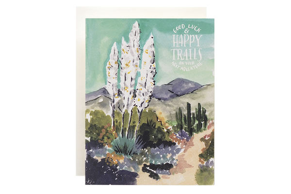 Agave Happy Trails Card