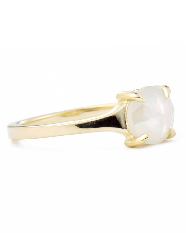 Astrid Rose Cut Round Diamond Ring