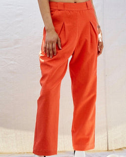 Hemp Pleat Pant