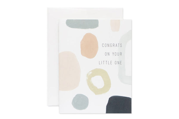 Baby Abstract Card