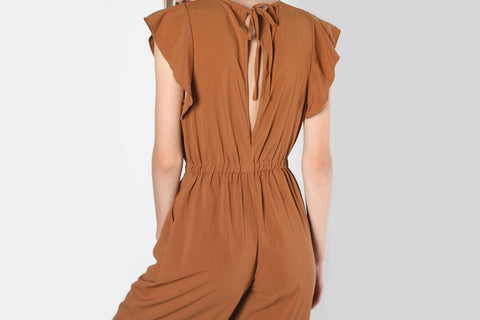 Tie Front Cutout Dress