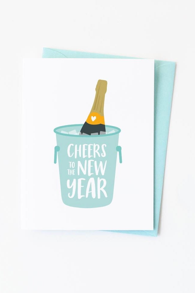 New Year Cheers Card