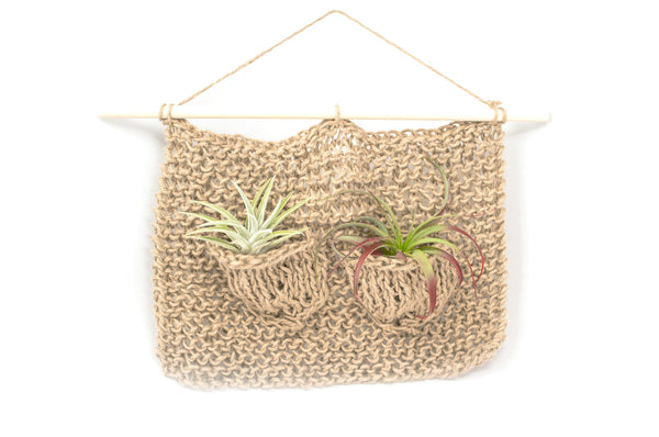 Duo Pocket Air Plant Hanger
