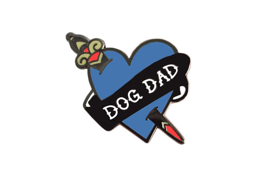 Dog Dad Pin