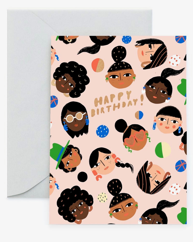 C'est Chic Birthday Card