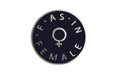 F as in Female Pin