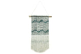 Wave Block Print Wall Hanging