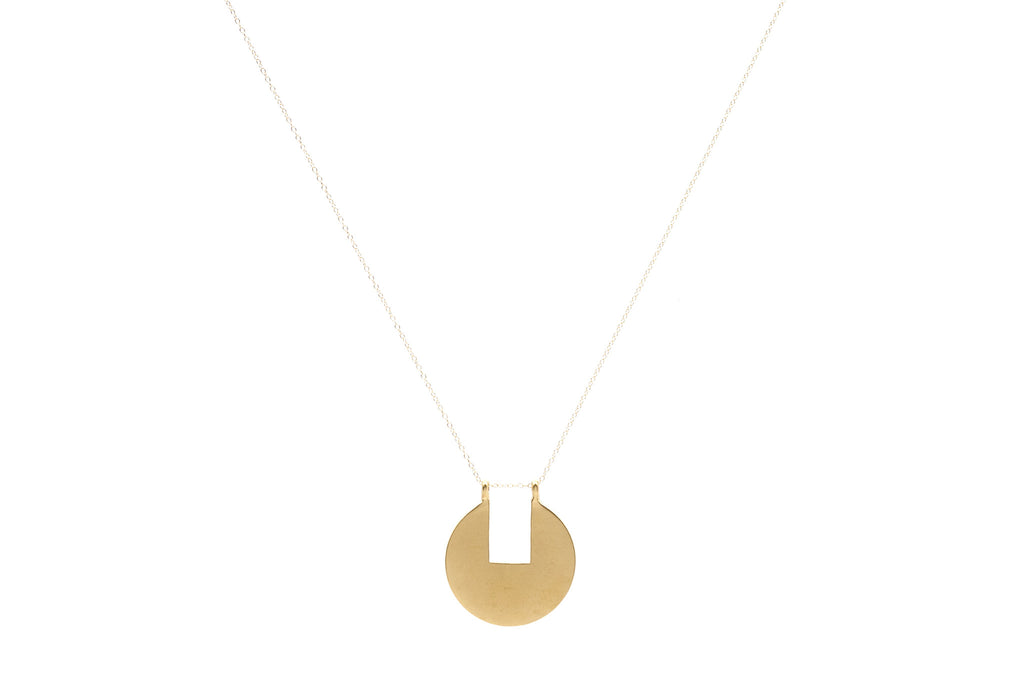 Removed Rectangle Necklace