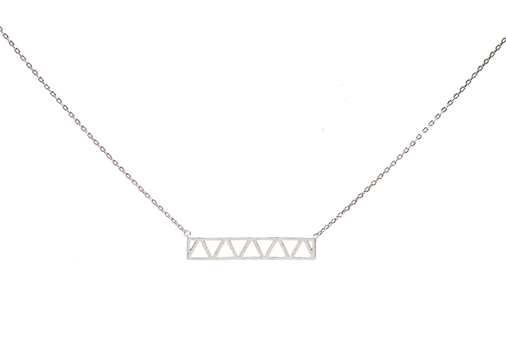 Triangle and Bar Pendant