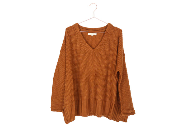 Copper Oversized Sweater