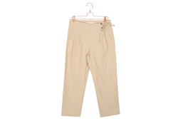 Side Tie Cropped Pants