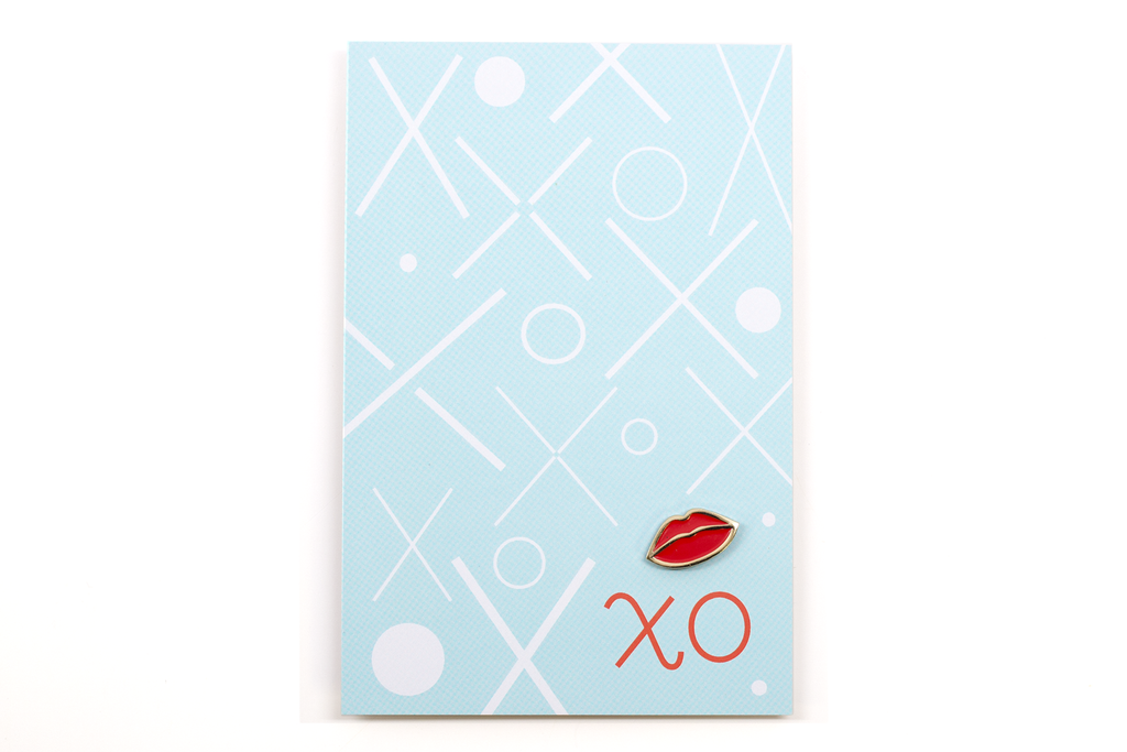 Lips Pin Card