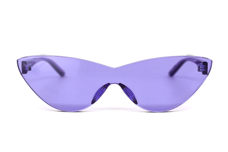Amethyst Cat Eye Sunglasses