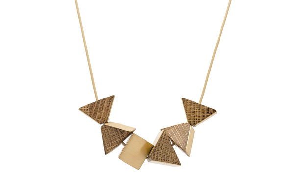 Nevelson Prism Necklace