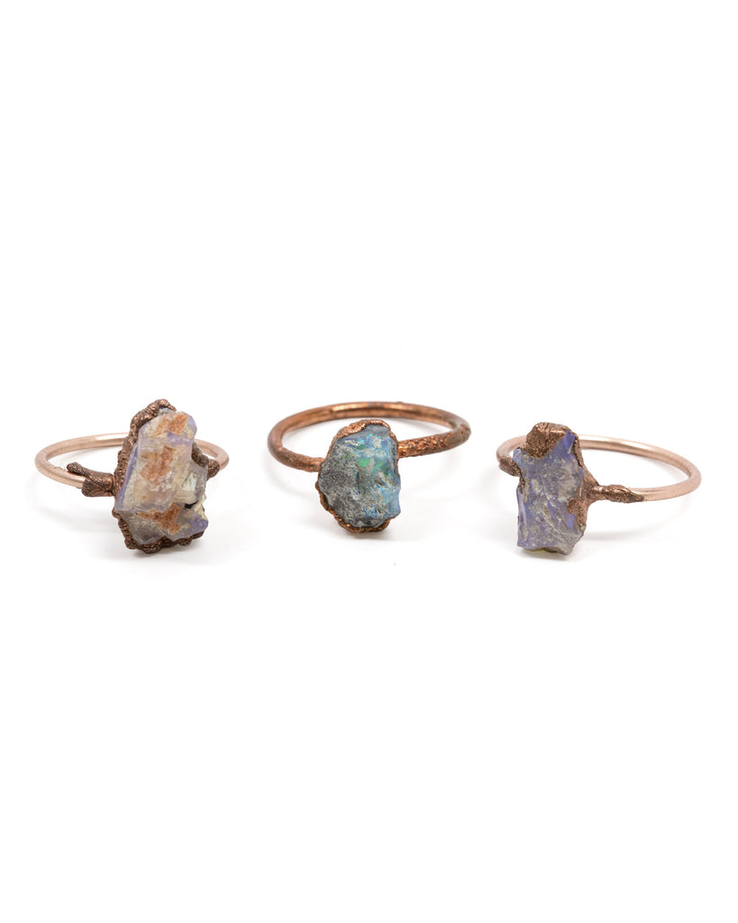 Medium Raw Opal Ring