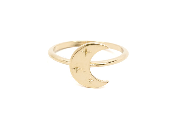 Artemis Moon Ring