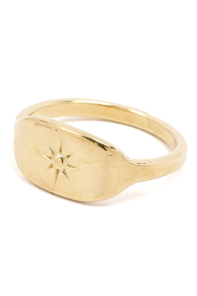 North Star Signet Ring