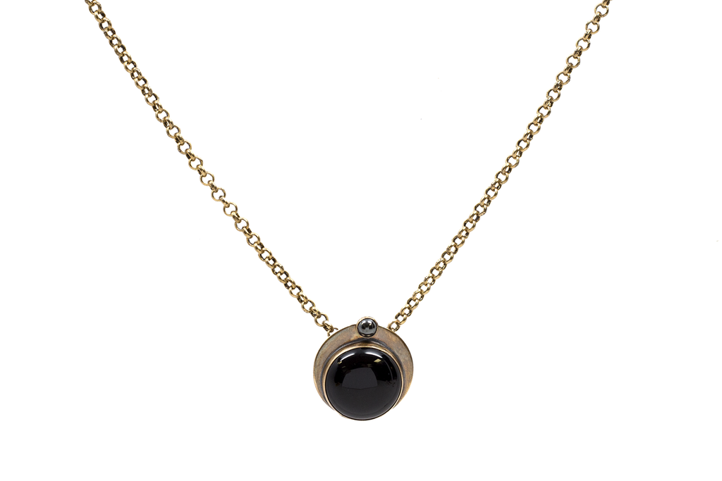 Double Eclipse Necklace