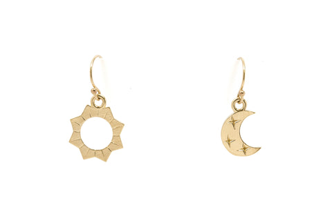 Ara Moon Phase Stud Set