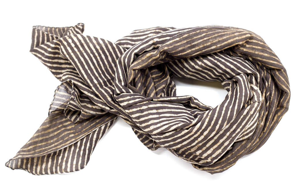 Thin Stripe Scarf
