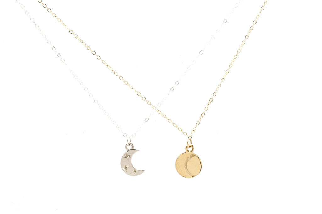 Eclipse Friendship Necklace Set