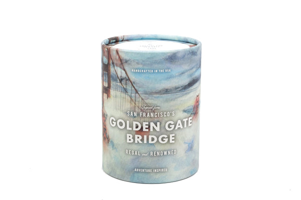San Francisco's Golden Gate Bridge Candle