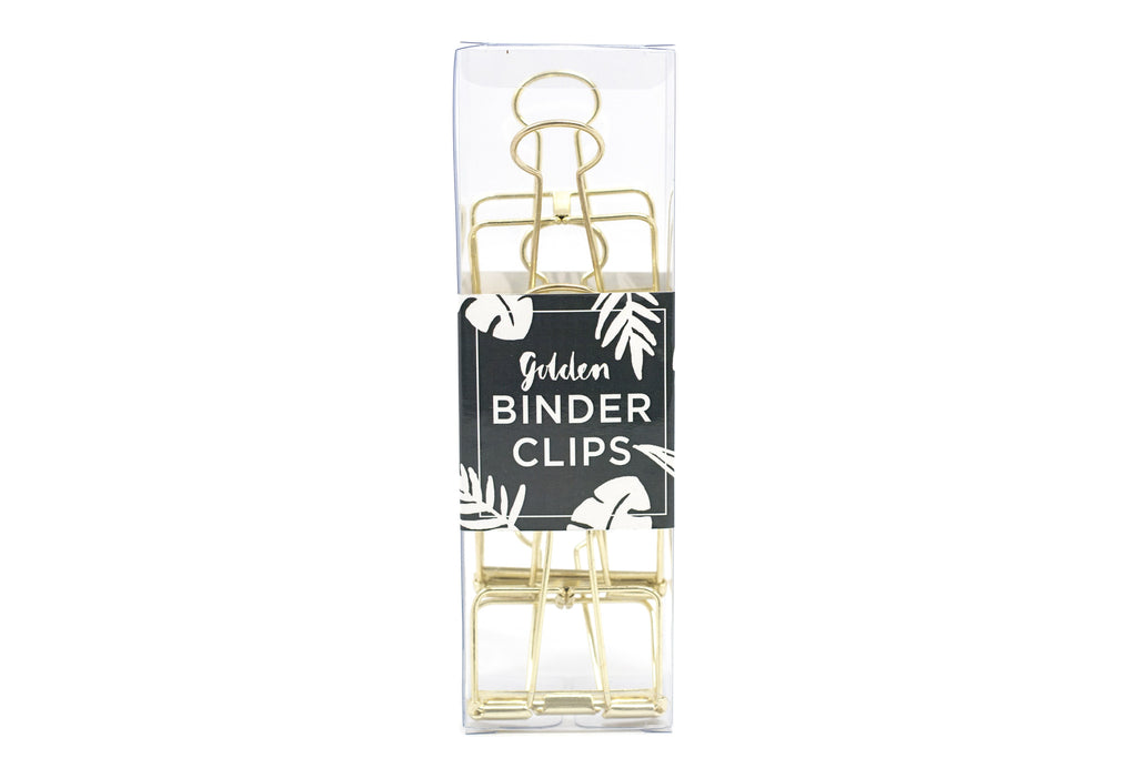 Large Metallic Binder Clips