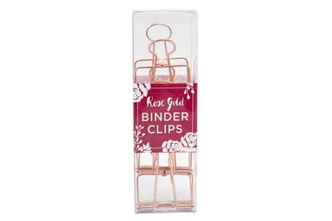 Small Metallic Binder Clips