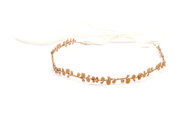Delicate Rose Vine Crown