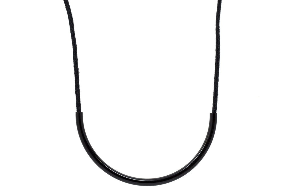 Black Standard Necklace