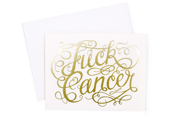 Fuck Cancer Card