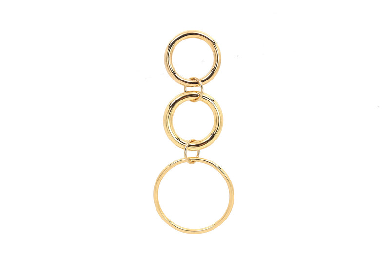 Three Circle Earring
