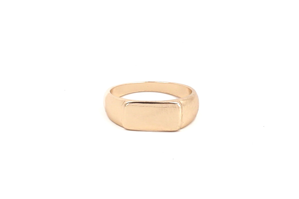 Bar Signet Ring
