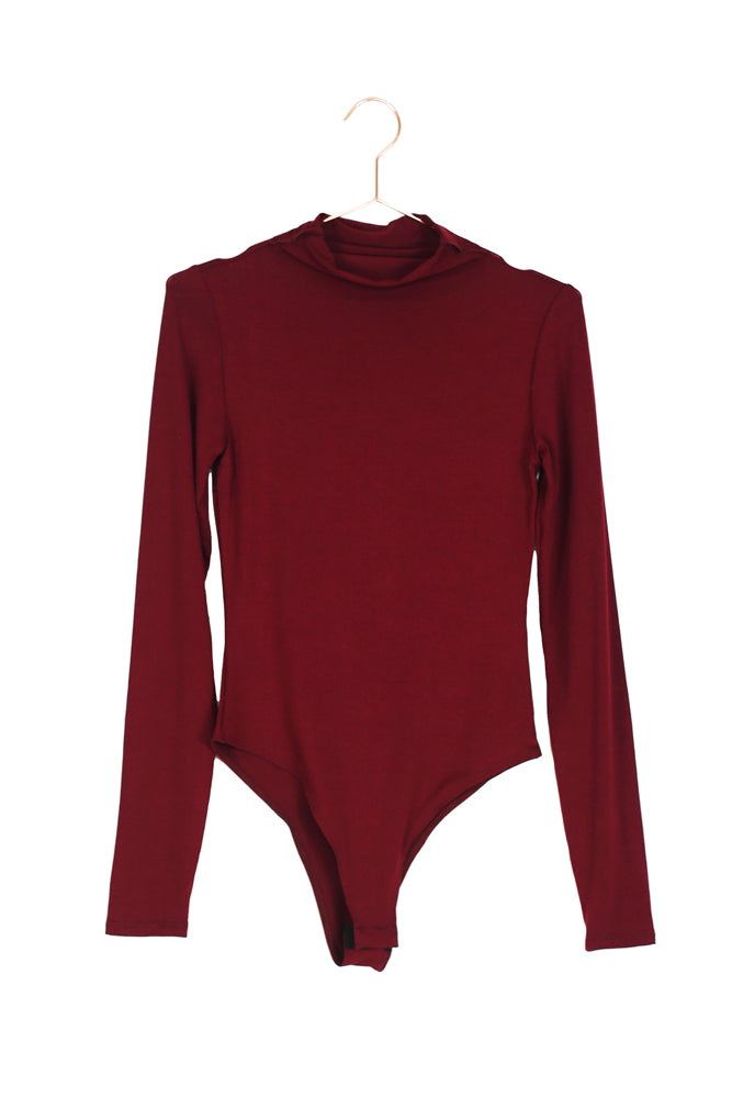 Mock Neck Bodysuit