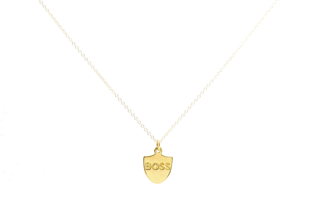 Boss Charm Necklace