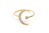 Pave Eclipse Ring