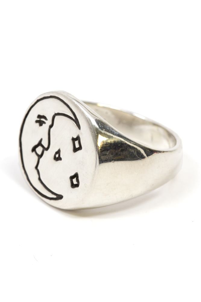 Night's All Right Signet Ring