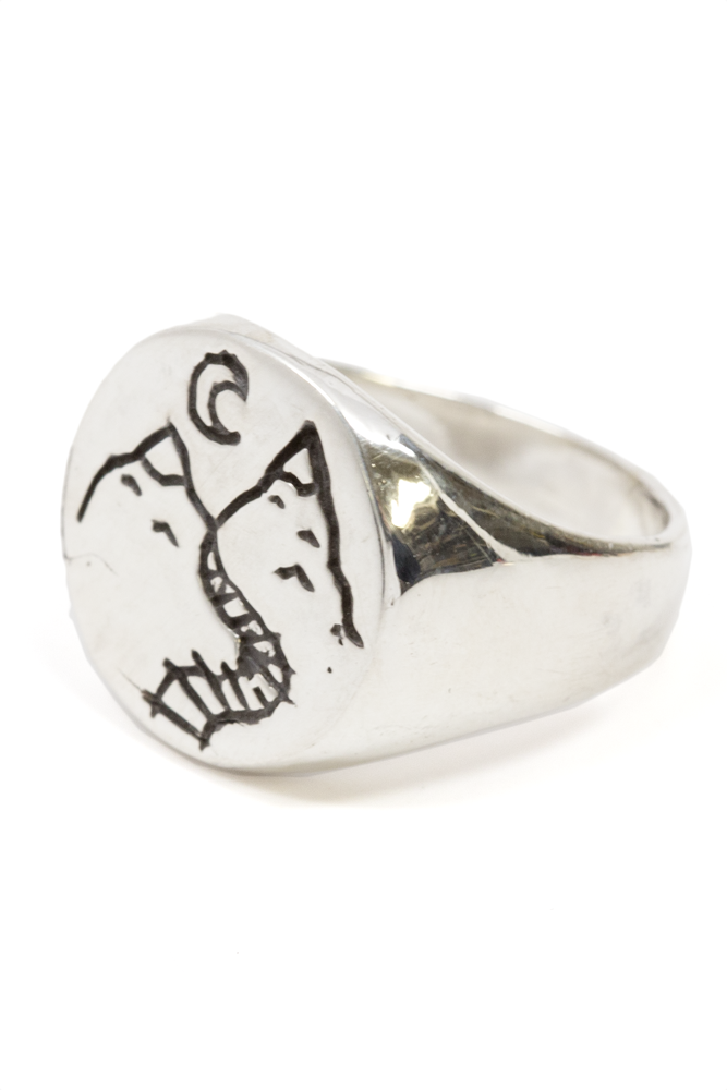 Headed Somewhere Signet Ring