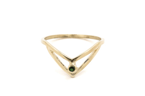 Small Stacking Mood Ring