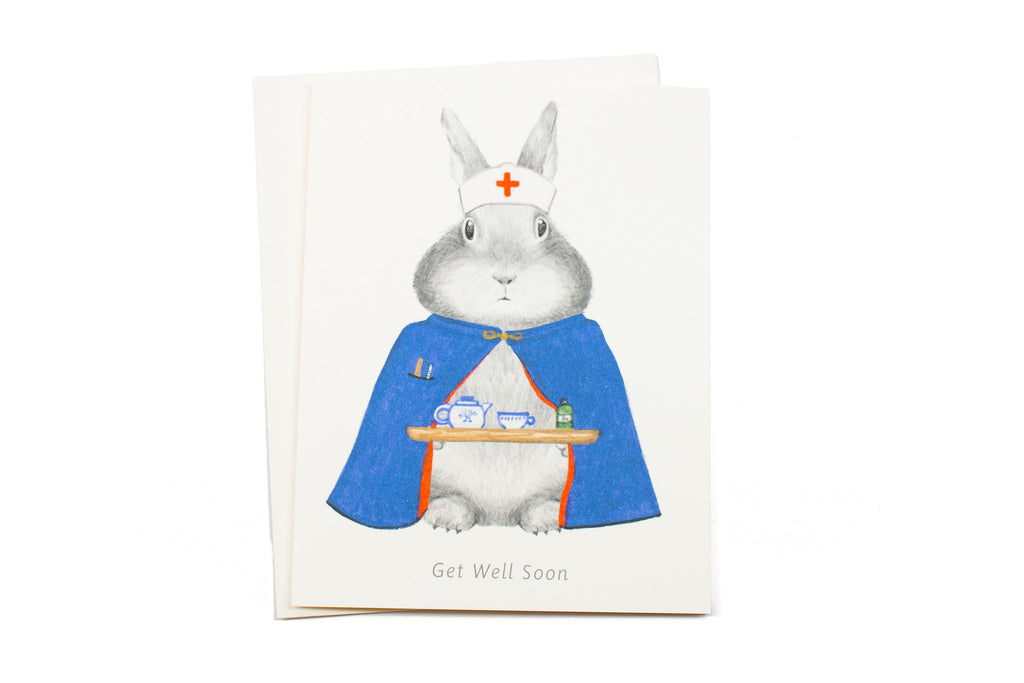 Nurse Bunny Card