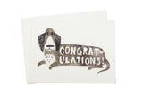 Doggy Congratulations Card