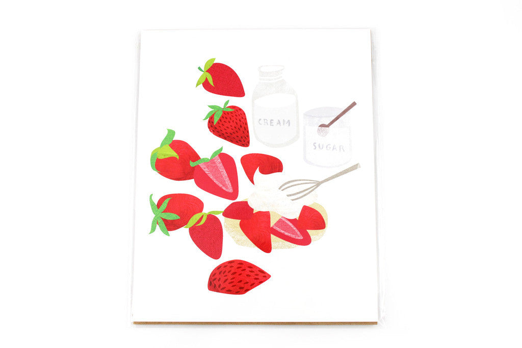 Strawberry Shortcake Print