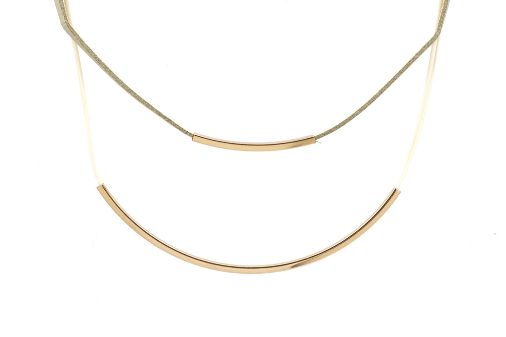 Double Layered Choker