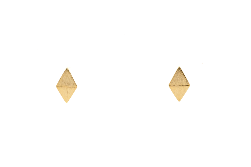 Curved Diamond Studs