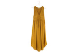 Golden Midi Dress