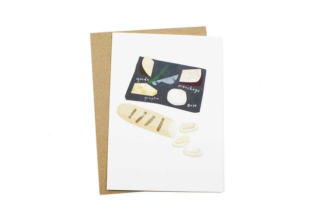 Cheese Plate Card