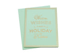 Holiday Kisses Card