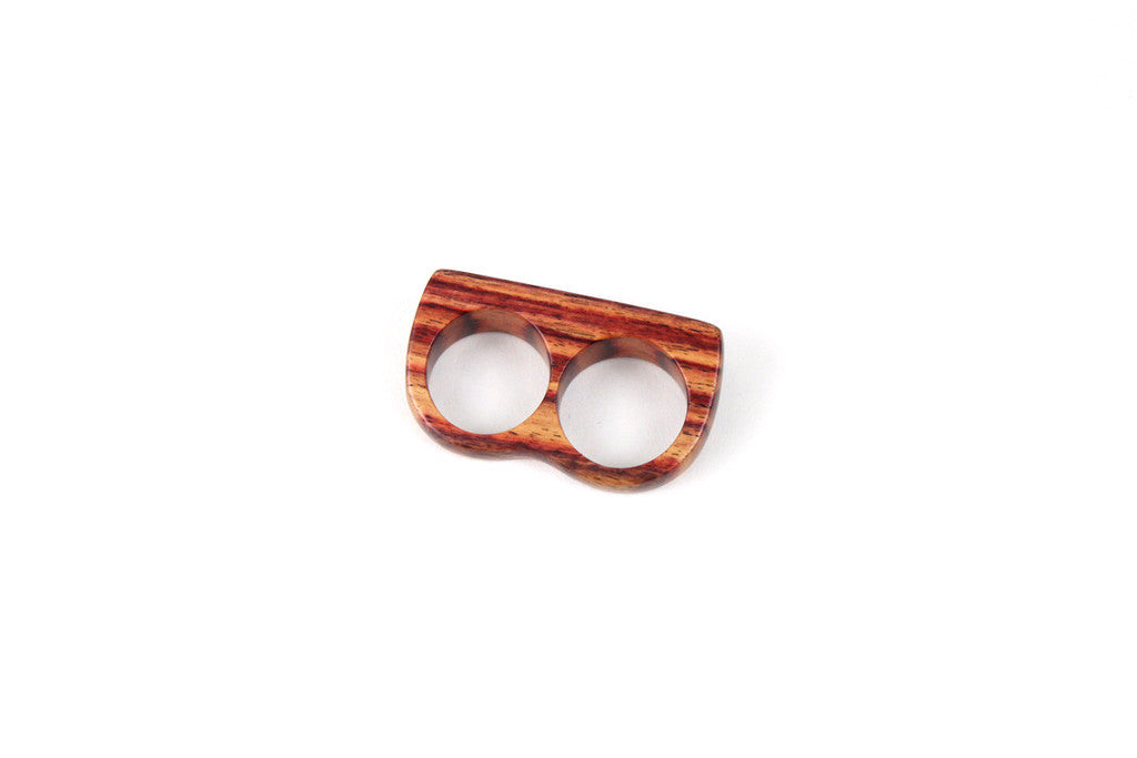 Double Wooden Ring