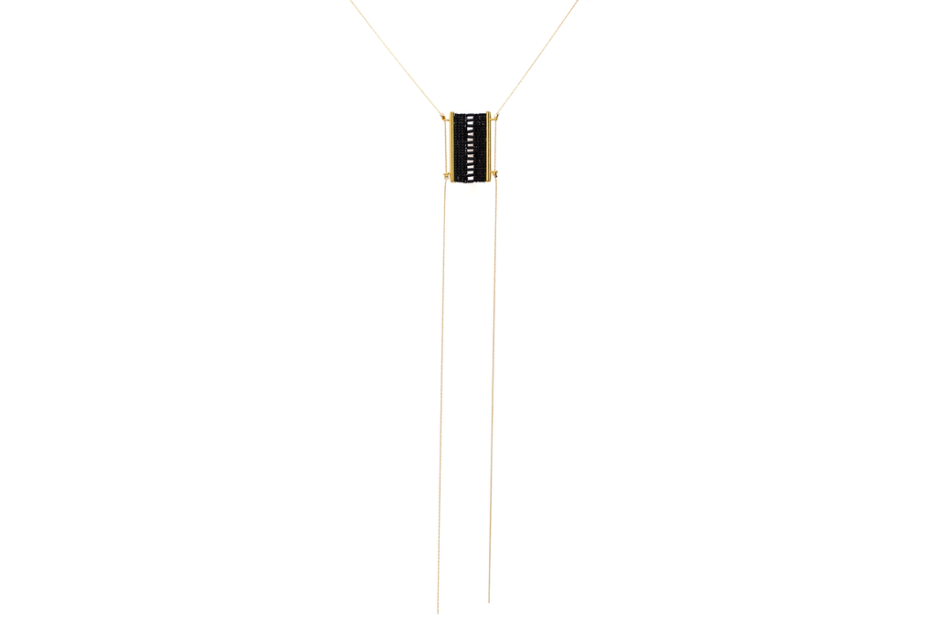 Sheer Short Bolo Necklace